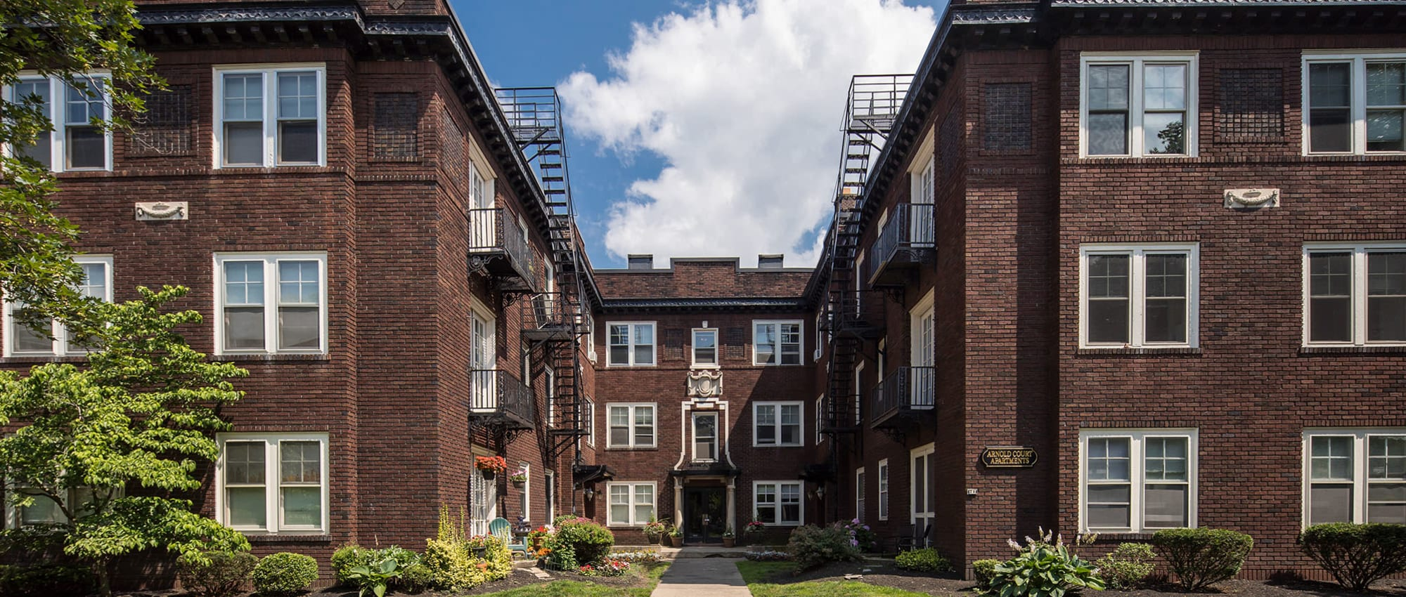 Arnold Court apartments in Rochester, New York