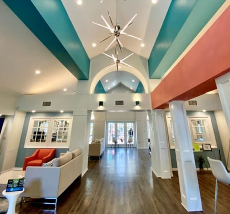 Leasing office at 1801 MetroWest in Orlando, Florida