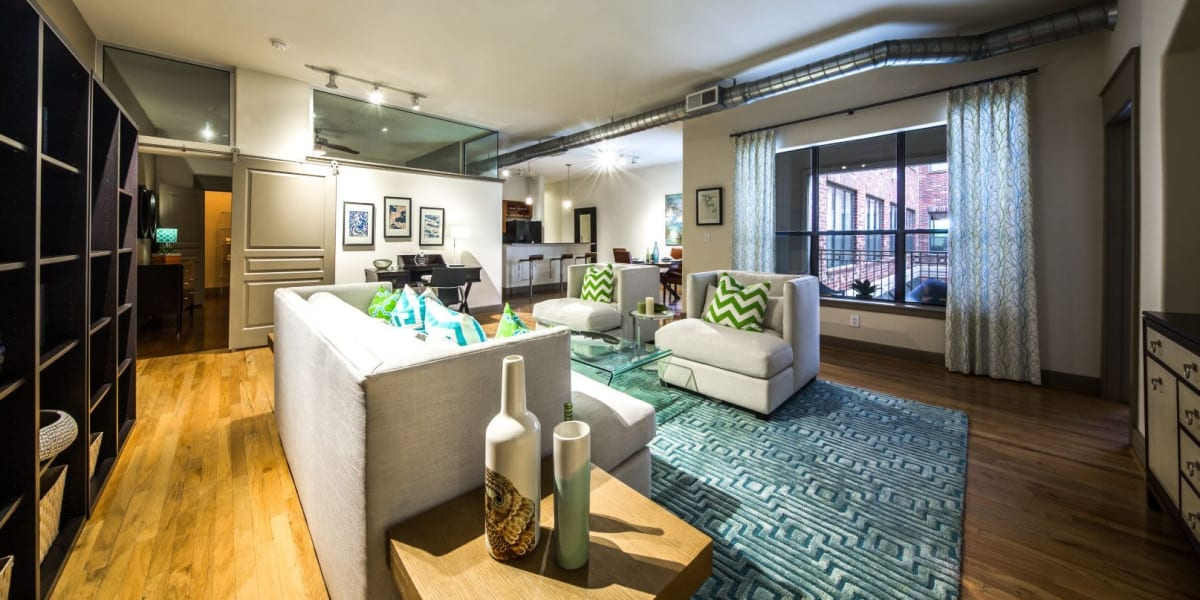 Clubhouse at Marquis Lofts on Sabine in Houston, Texas