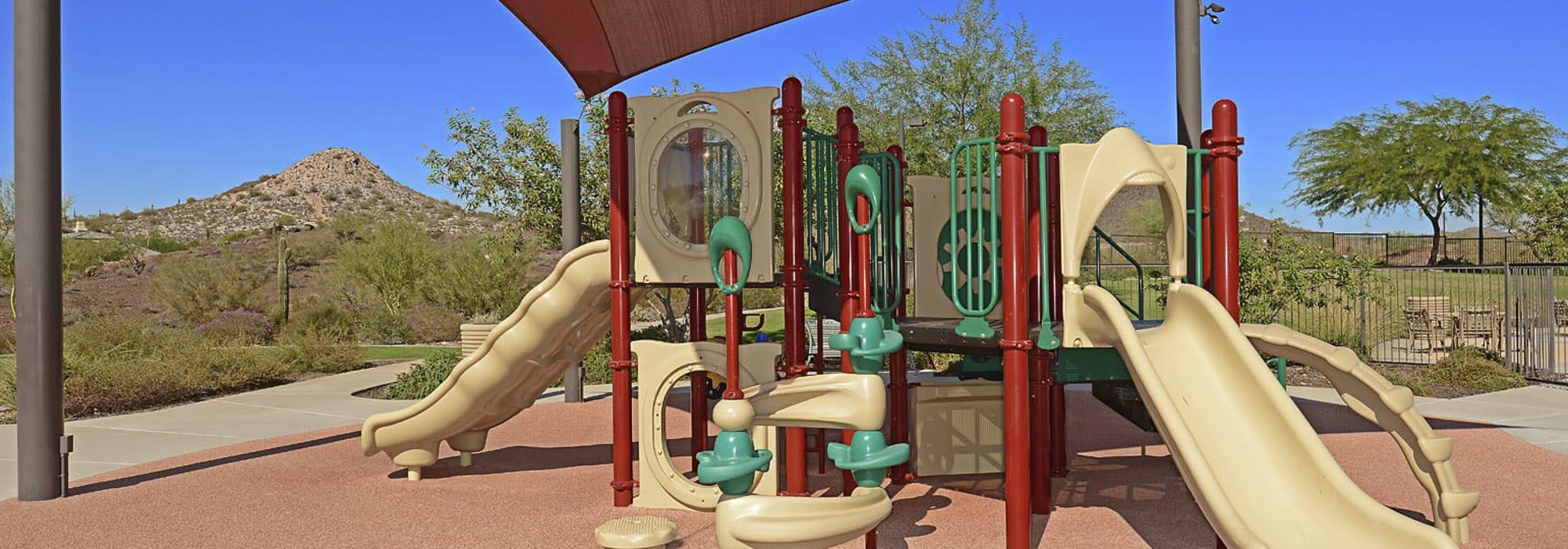 Community playground at BB Living at Vistancia in Peoria, Arizona
