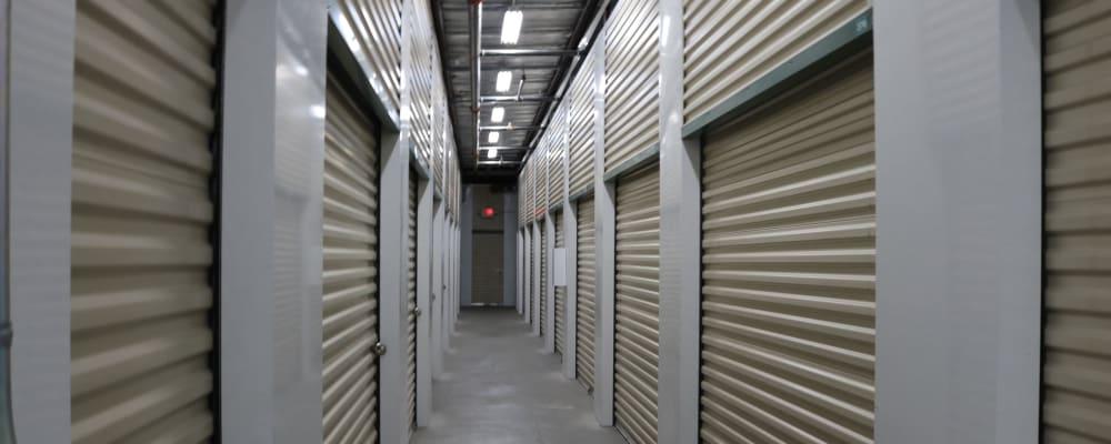 Indoor storage at Golden State Storage - Horizon Ridge in Henderson, Nevada