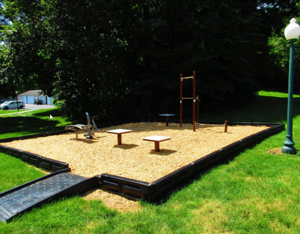 Onsite playground at Vista Point Apartments in Wappingers Falls, New York