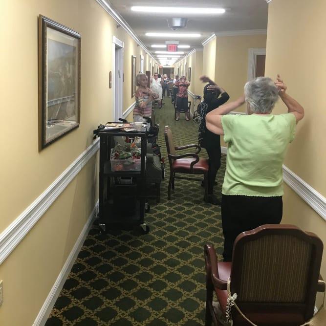 Residents at Grand Villa of Altamonte Springs in Altamonte Springs, Florida