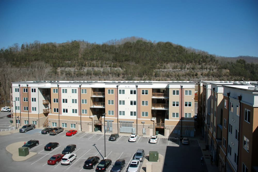Pikeville Commons Apartments in Pikeville, Kentucky exterior view