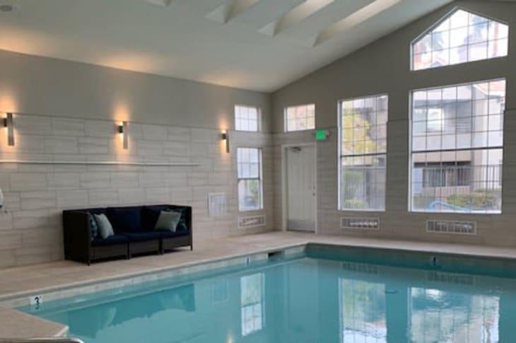 Indoor pool at Sunrise Springs Apartments in Las Vegas, Nevada