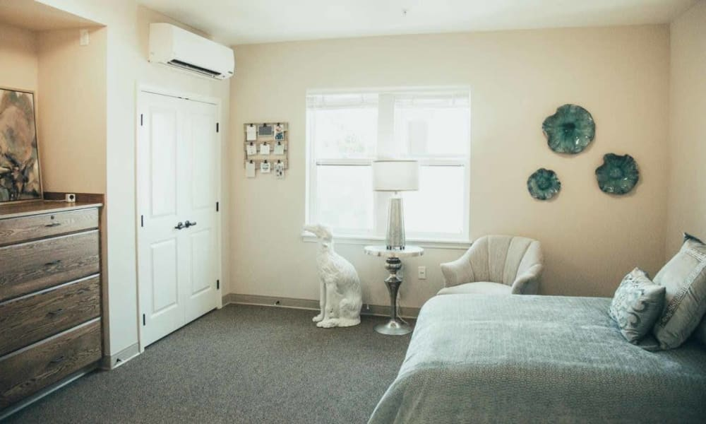 Studio apartment at Quail Park Memory Care Residences of West Seattle in Seattle, Washington
