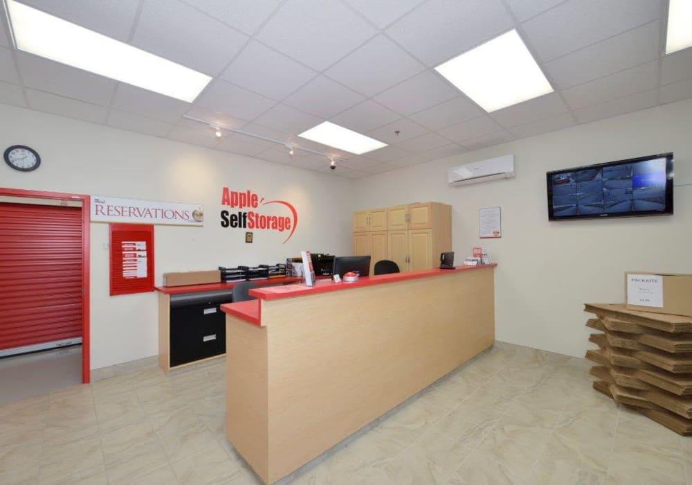 Office at Apple Self Storage - Kingston in Kingston, Ontario