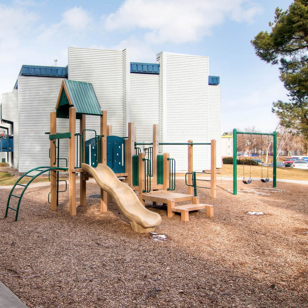 Resident playground at Arvada Village Apartment Homes in Arvada, Colorado