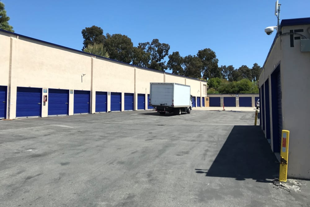 Wide door units at Storage Solutions in San Marcos, California