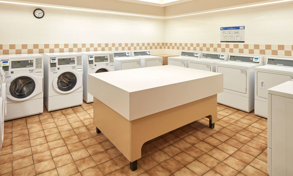 Laundry center at Richmond Hill Apartments in Richmond Hill, Ontario