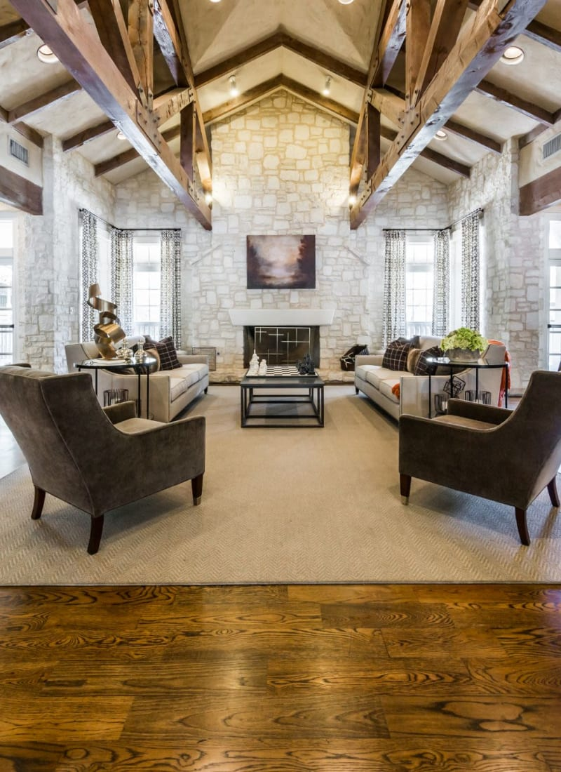 Community clubhouse at Marquis at Deerfield in San Antonio, Texas
