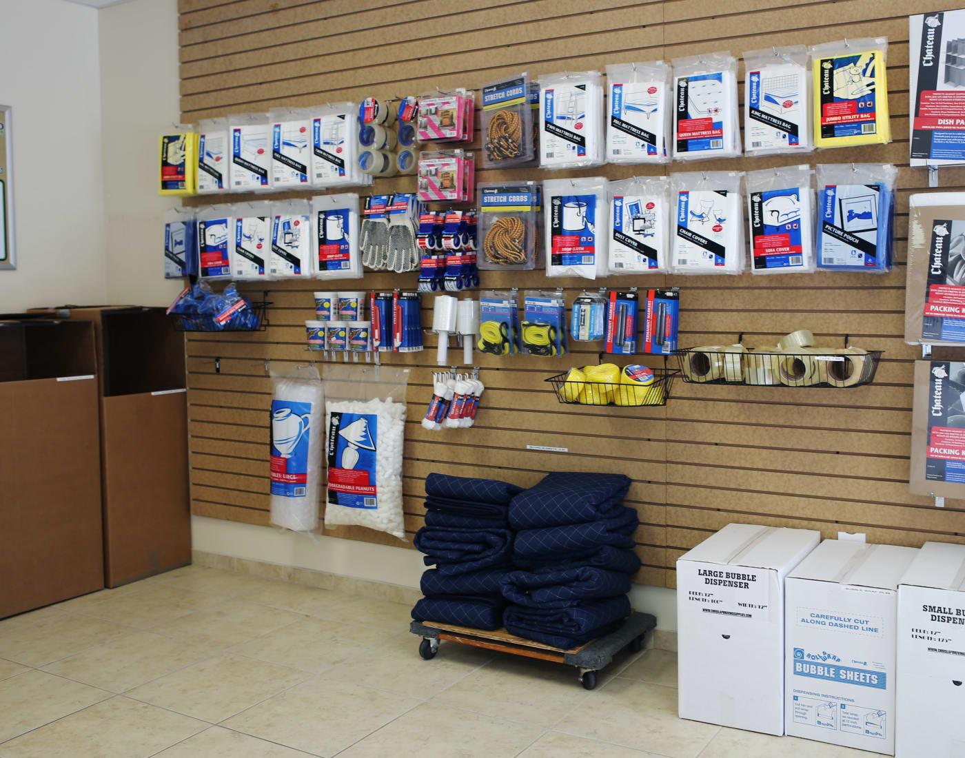 Leasing office at Midgard Self Storage in Bradenton, Florida