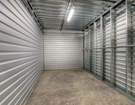 Interior of unit at StorQuest Self Storage in North Miami Beach, Florida