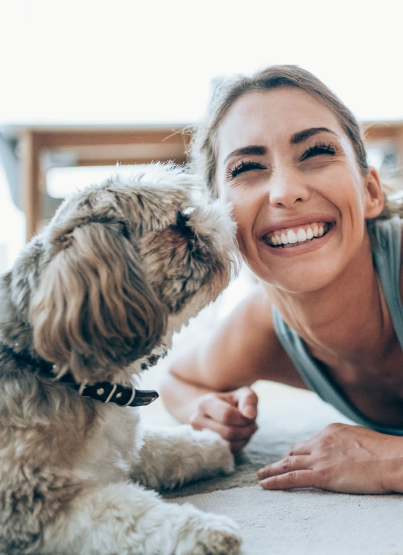 View our pet policy at Marquis at the Reserve in Katy, Texas