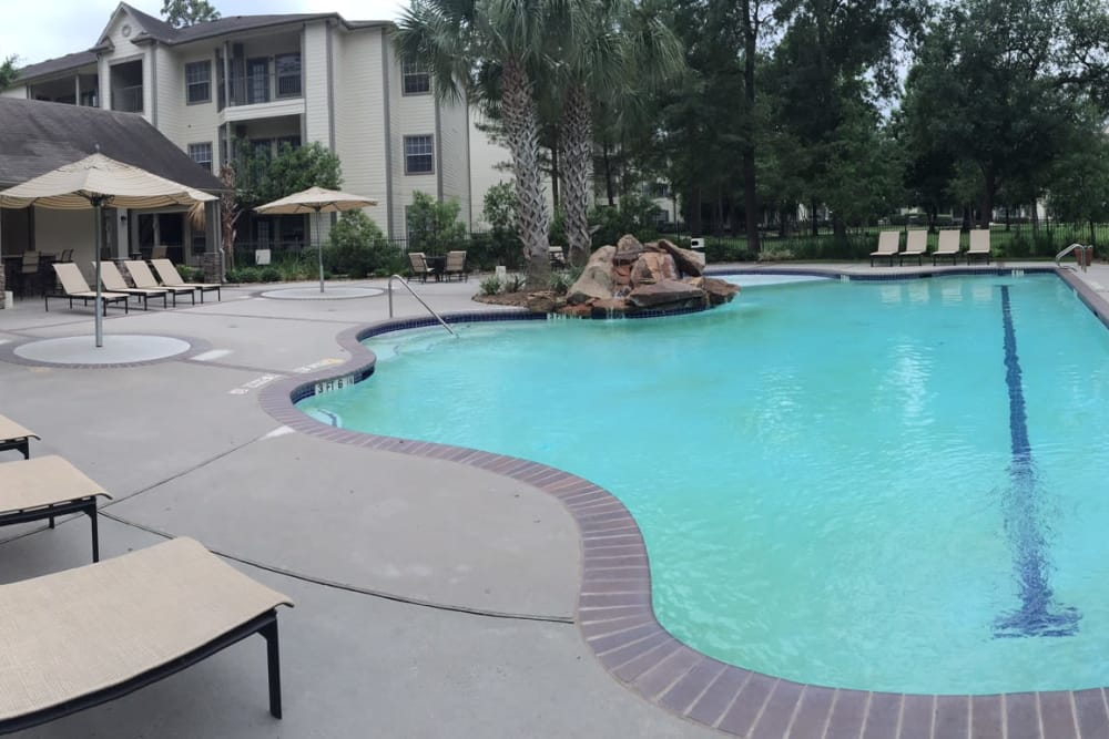 Enjoy a refreshing pool at Parc @ Champion Forest in Houston, Texas