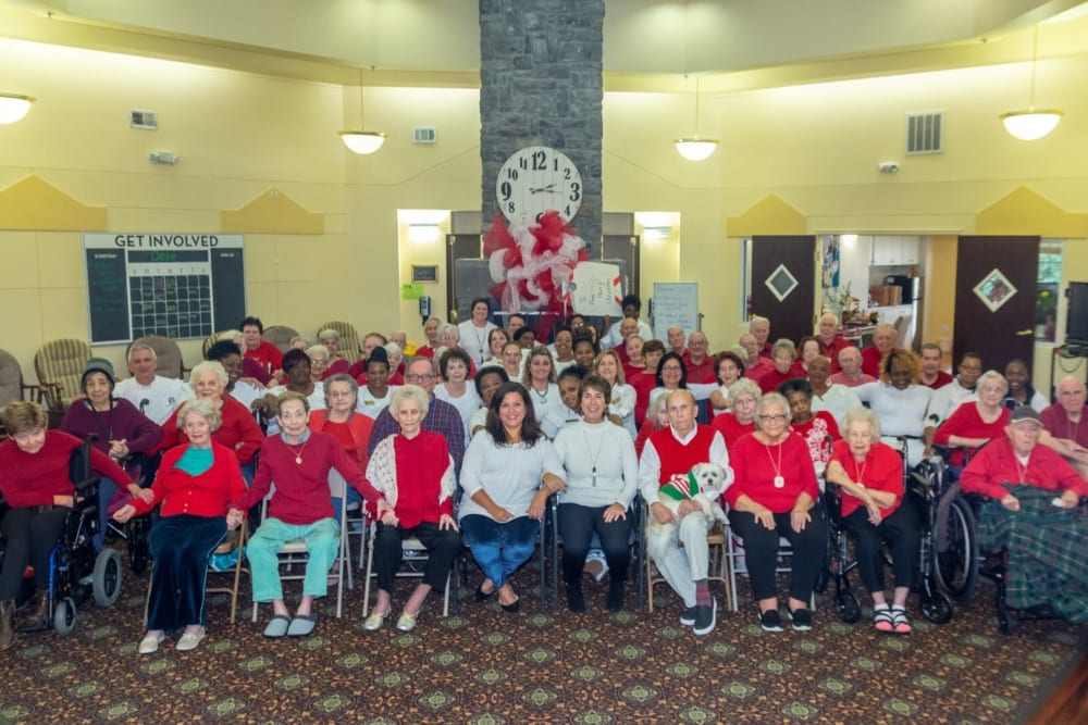 Resident holiday photo at Parsons House Cypress in Cypress, Texas