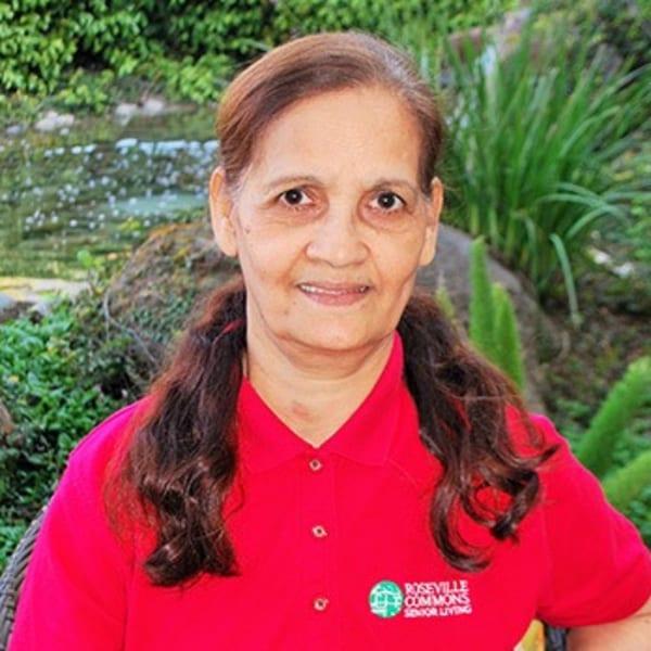 Phul K, housekeeper at Roseville Commons Senior Living in Roseville, California