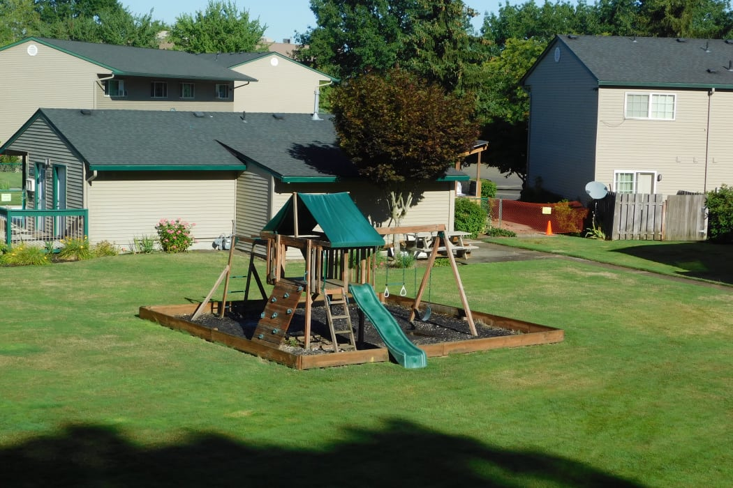 Enjoy spacious playground at Lakeside Apartments in Albany, OR
