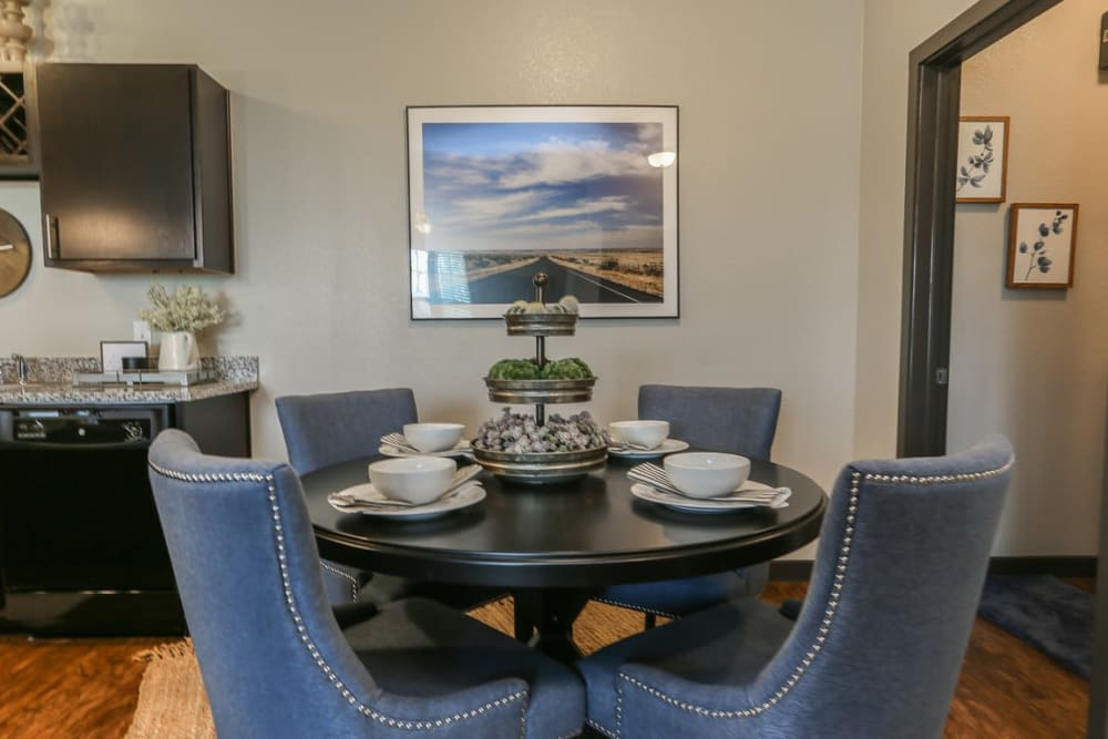 Spacious Dining Area at Springs at Cottonwood Creek Apartments