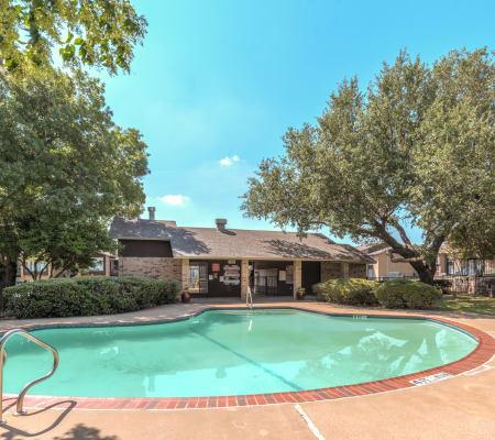 Community pool at Meadow Ridge