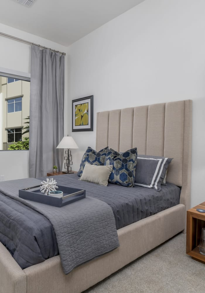 Spacious bedroom with a view at The District at Scottsdale in Scottsdale, Arizona
