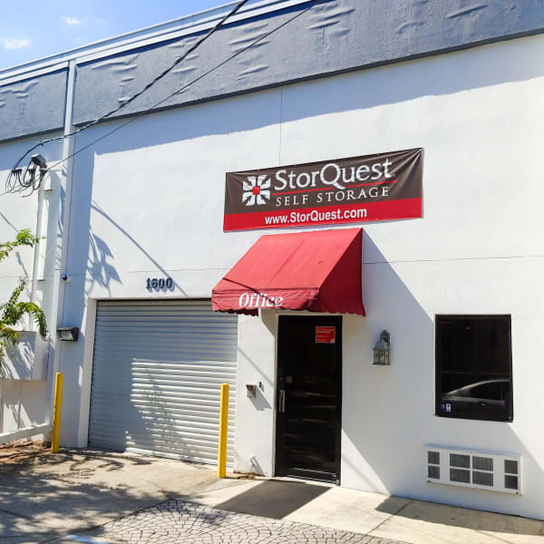 Exterior of StorQuest Express - Self Service Storage in Tampa, Florida