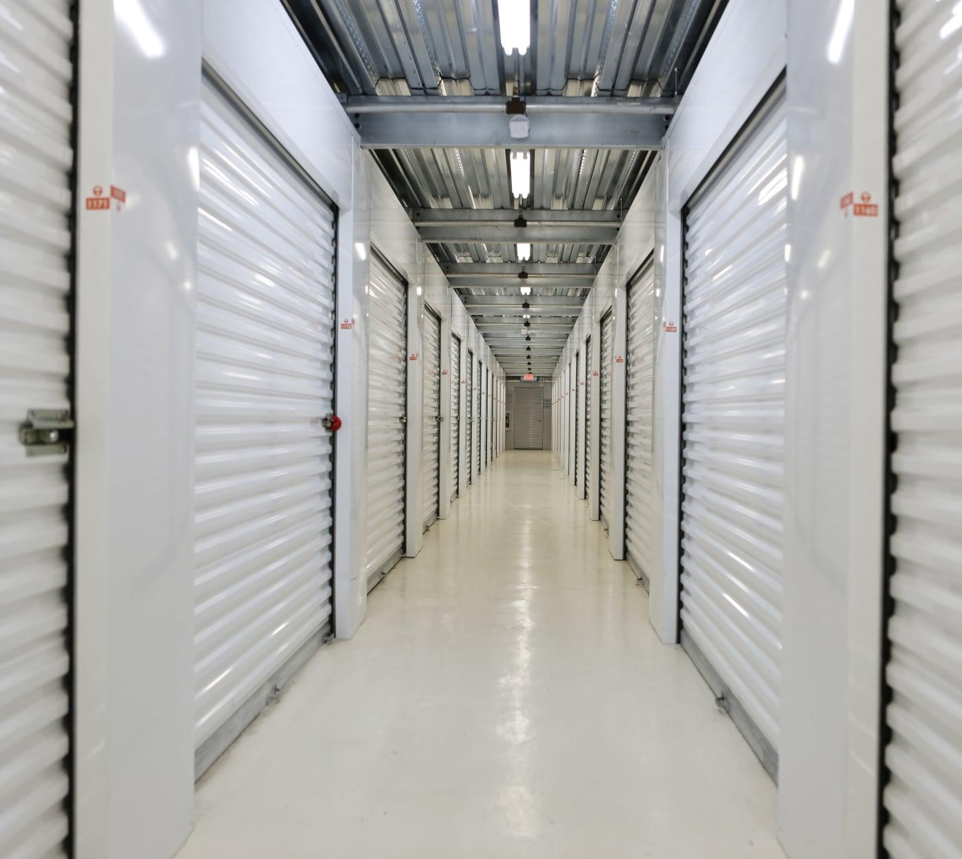 Ground-floor units at Midgard Self Storage in Key West, Florida