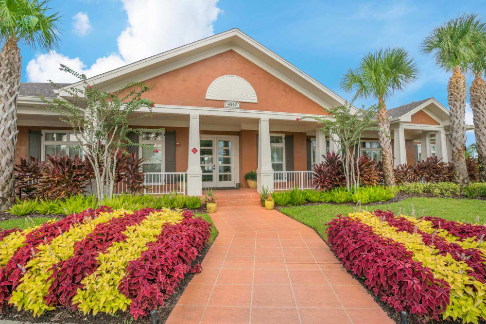Entryway at Apartments in West Melbourne, Florida