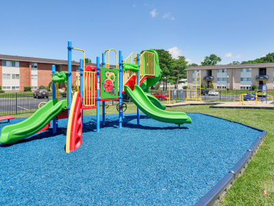 Seneca Bay Apartment Homes offers a playground in Middle River, Maryland