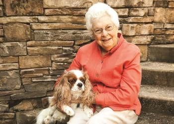 Small Pets are welcome at Blue Ridge Assisted Living