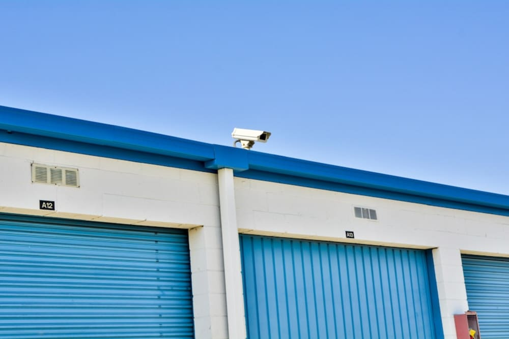 Security camera at our storage facility in Gardena