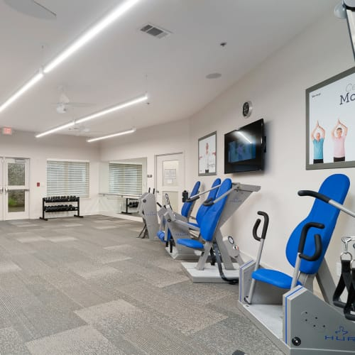 Fitness Center at Celebration Village Forsyth in Suwanee, Georgia
