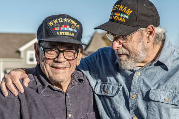 Veterans are respected at Oak Park Village Hammond