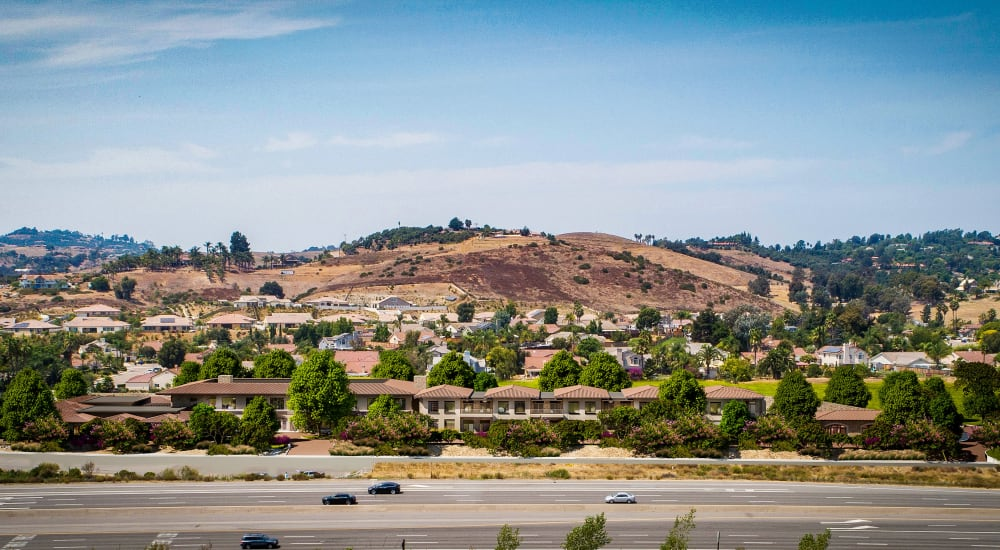 Carefield Living Bonsall is close to major roads in Bonsall, California.