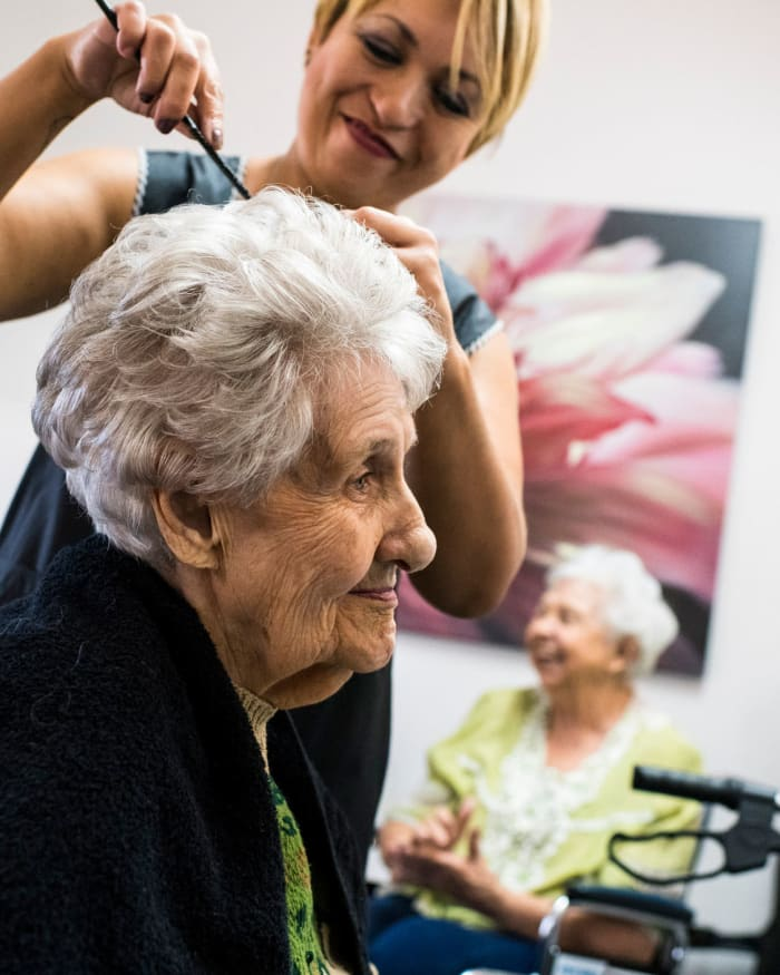 Salon & Barbershop at The Springs at Sunnyview in Salem, Oregon