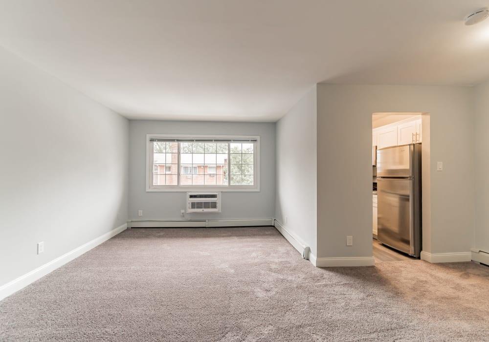 Carpeted floors at Eagle Rock Apartments at Mineola