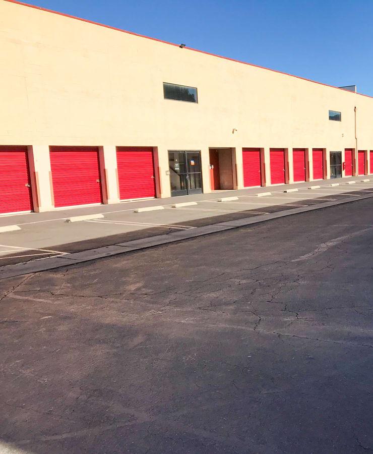 Exterior units at StorQuest Self Storage in Westlake Village, California