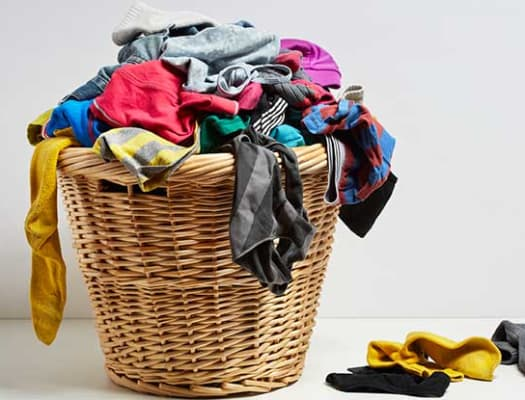 Laundry basket at our Rochester City Apartments in Rochester, New York