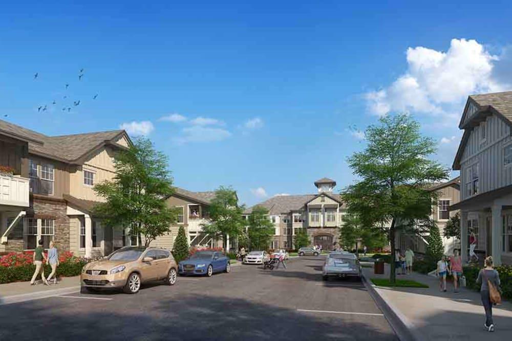 Brookson Resident Flats Neighborhood Rendering
