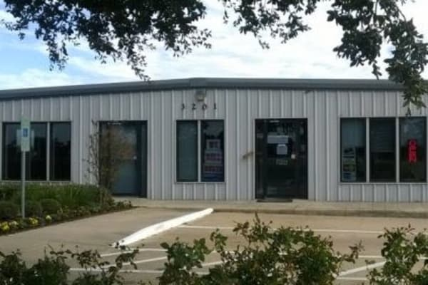 Front office of storage units in College Station, Texas