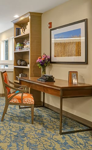 senior living community in Mountlake Terrace has all the amenities that are right for you or your loved one