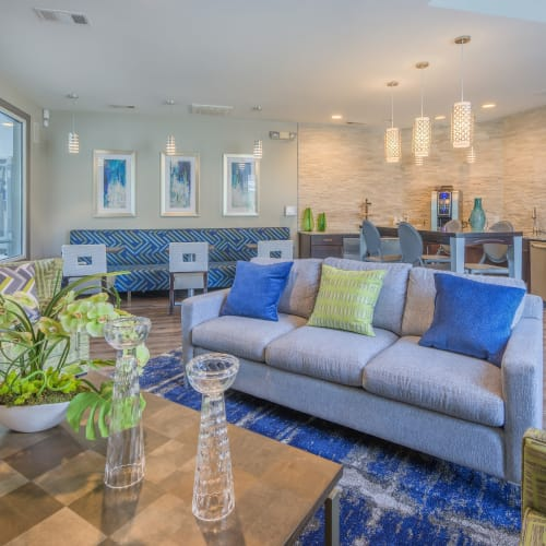 View virtual tour of the clubroom at The Mark in Raleigh, North Carolina
