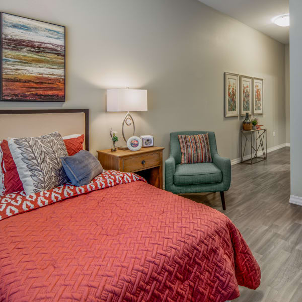 State of the art apartments at Quail Park of Oro Valley in Oro Valley, Arizona