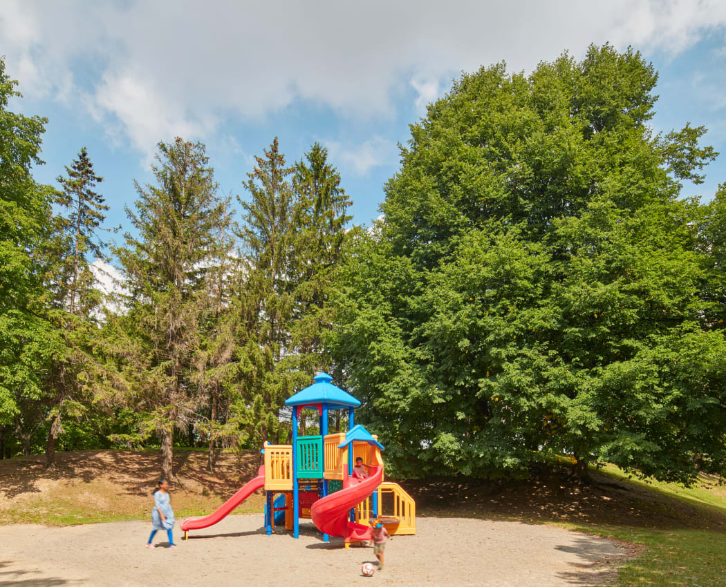 Lovely onsite playground at 8 Silver Maple Court in Brampton, Ontario