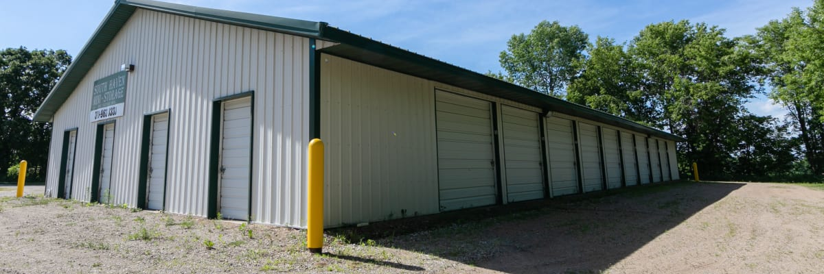 Unit size guide from KO Storage of South Haven in South Haven, Minnesota