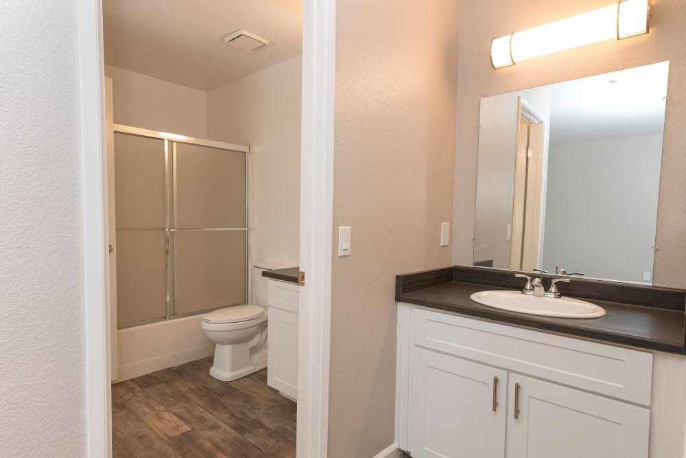 Bathroom at Park Ridge Apartment Homes in Rohnert Park, California