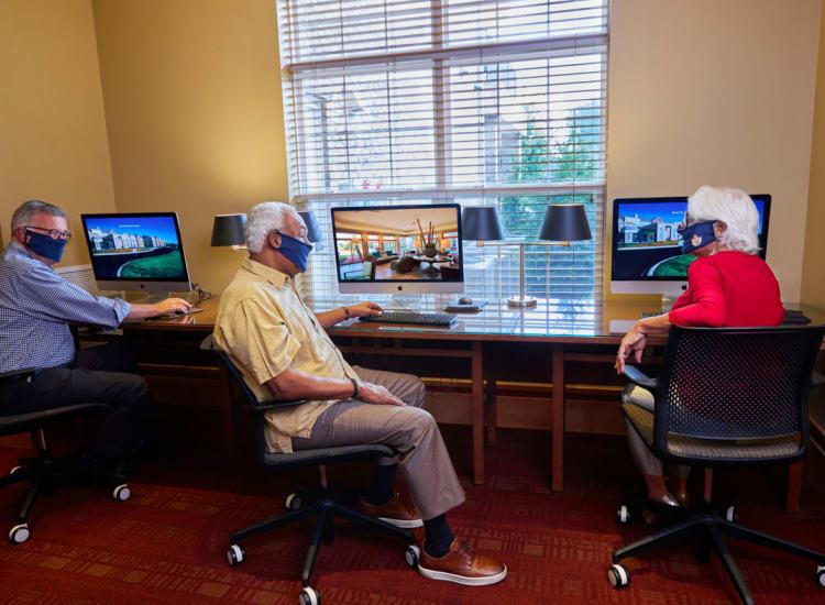 community computer room