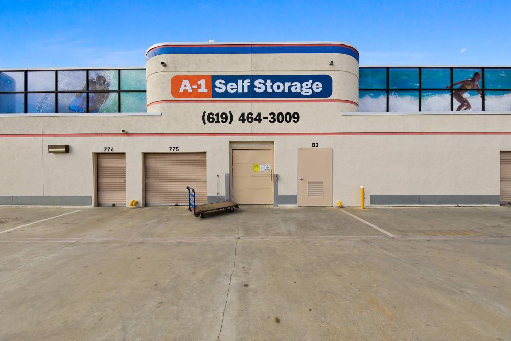 Storage facility in La Mesa, CA | A-1 Self Storage