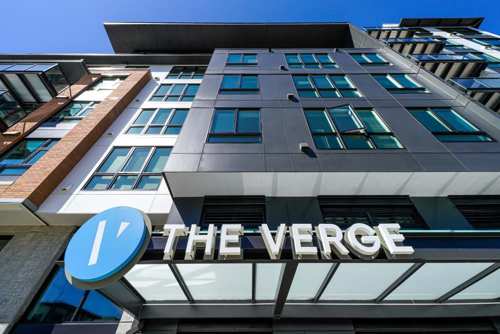 Exterior of The Verge in Auburn, WA