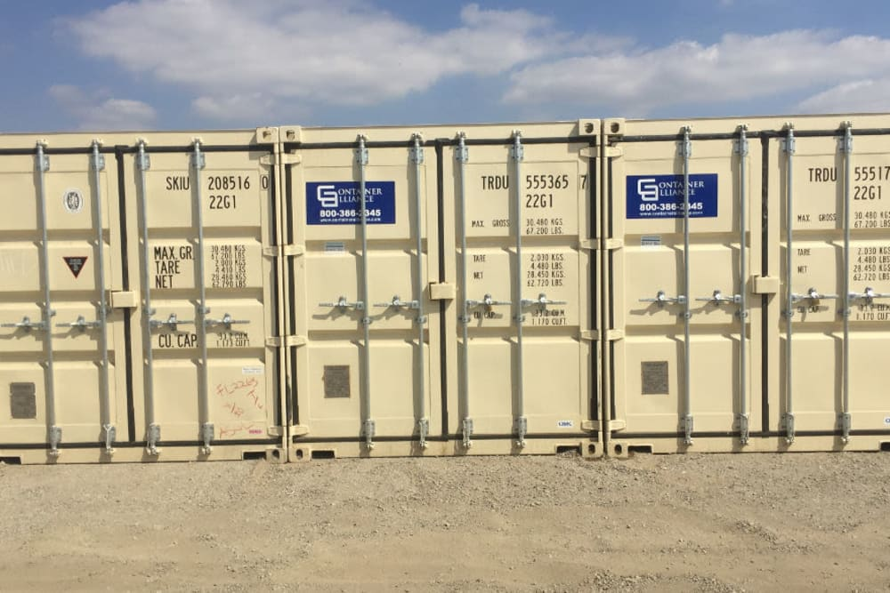 Storage Containers are Provided at Storage Etc... Sylmar